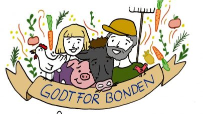 Godt for bonden logo